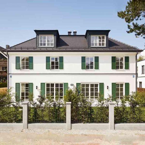 <b>Estate No.3</b> <br>Neubau zweier Villenhälften <br>München Bogenhausen