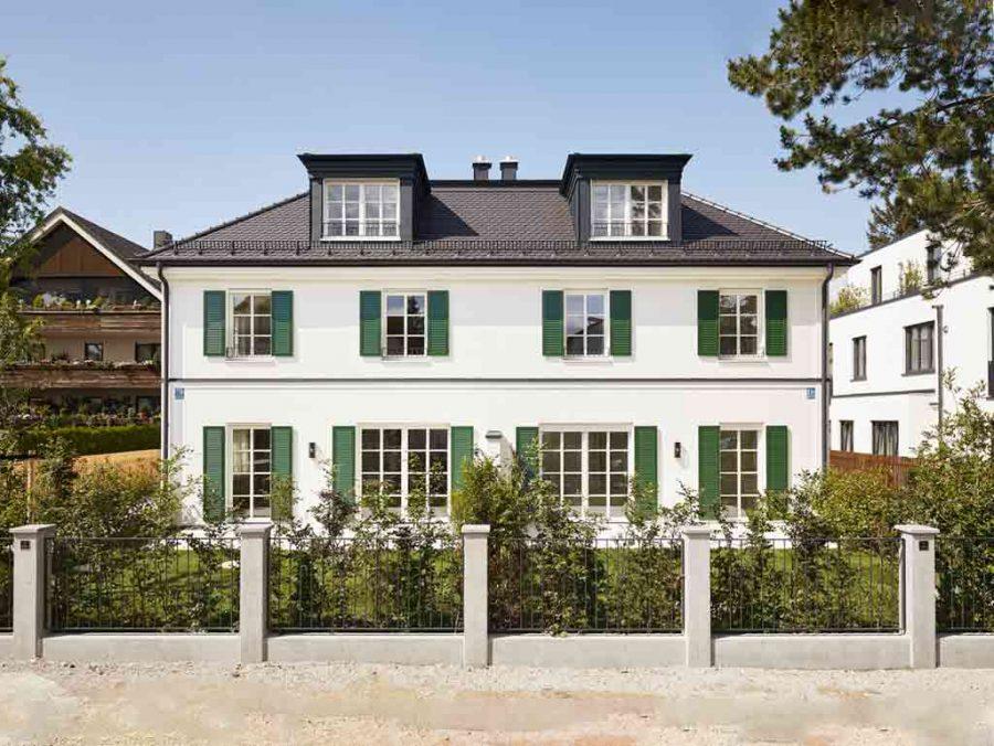 <b>Estate №3</b> <br>Neubau zweier Villenhälften <br>München Bogenhausen