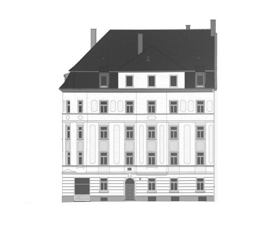 <b>Estate No.2</b> <br>Entwicklung eines Mehrfamilienhauses<br> München Giesing