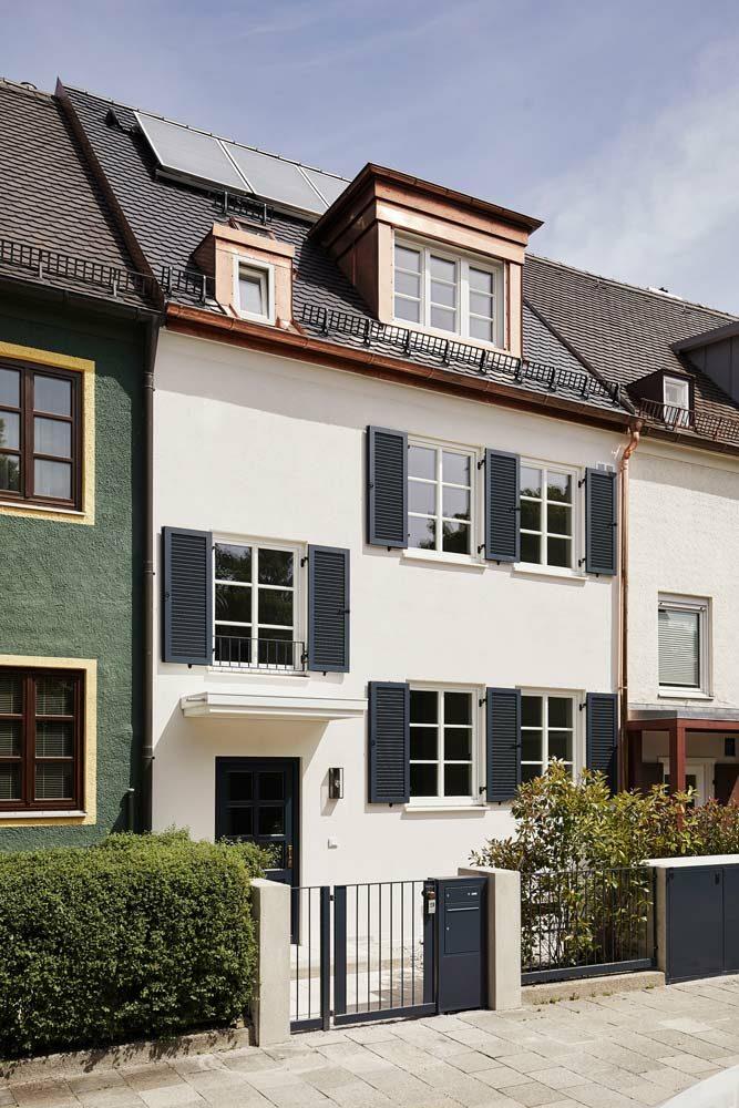 <b>Estate №4</b> <br>Vitalisierung eines Stadthauses <br>München Nymphenburg