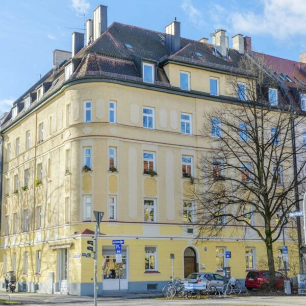 <b>Estate №2</b> <br>Mehrfamilienhaus-Entwicklung<br> München Giesing