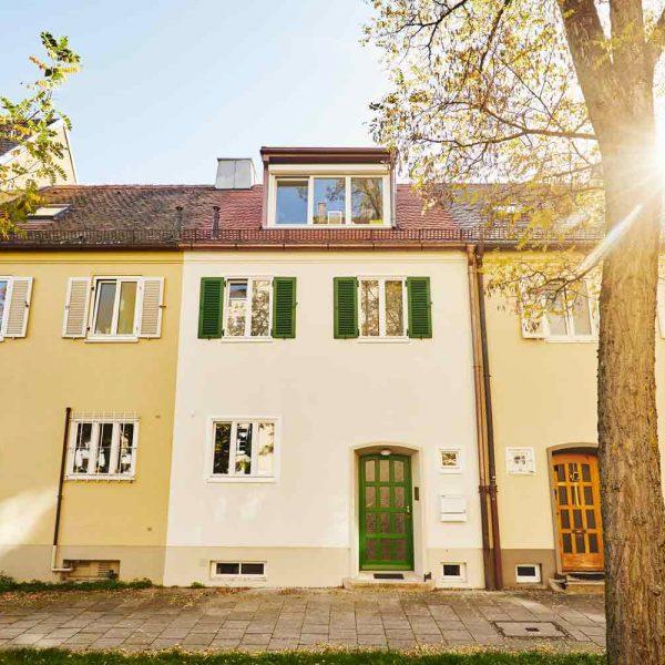 <b>Estate No.1</b> <br>Umbau eines Stadthauses <br>München Schwabing